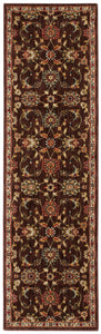 Kathy Ireland Ancient Times Ancient Treasures Brown Area Rug By Nourison BAB05 BRN
