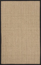 Load image into Gallery viewer, Jaipur Rugs Naturals Naturals Pattern Ivory/Black Seagrass Area Rug