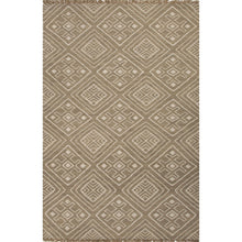 Load image into Gallery viewer, Jaipur Rugs Flat-Weave Tribal Pattern Taupe/Ivory Wool Area Rug