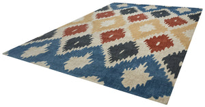 Rizzy Home Bradberry Downs BD8604 Multi-Colored Ikat Area Rug