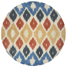 Load image into Gallery viewer, Rizzy Home Bradberry Downs BD8604 Multi-Colored Ikat Area Rug