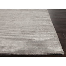 Load image into Gallery viewer, Jaipur Rugs Handloom Solid Pattern Gray Wool and Art Silk Area Rug BI05 (Rectangle)