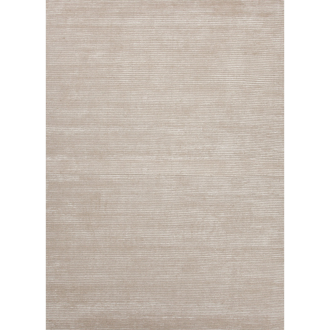 Jaipur Rugs Handloom Solid Pattern Taupe/Tan Wool and Art Silk Area Rug