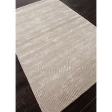 Load image into Gallery viewer, Jaipur Rugs Handloom Solid Pattern Taupe/Tan Wool and Art Silk Area Rug BI07 (Rectangle)