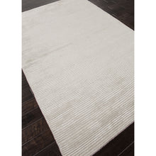 Load image into Gallery viewer, Jaipur Rugs Handloom Solid Pattern Ivory/White Wool and Art Silk Area Rug BI10 (Rectangle)