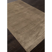 Load image into Gallery viewer, Jaipur Rugs Handloom Solid Pattern Taupe/Tan Wool and Art Silk Area Rug BI14 (Rectangle)