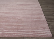 Load image into Gallery viewer, Jaipur Rugs Handloom Solid Pattern Pink Wool and Art Silk Area Rug BI18 (Rectangle)