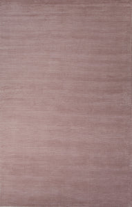 Jaipur Rugs Handloom Solid Pattern Pink Wool and Art Silk Area Rug