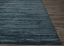 Load image into Gallery viewer, Jaipur Rugs Handloom Solid Pattern Blue Wool and Art Silk Area Rug BI20 (Rectangle)