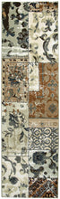 Load image into Gallery viewer, Rizzy Home Bennington BI4645 Ivory/Tan Patchwork Area Rug