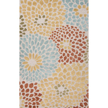 Load image into Gallery viewer, Jaipur Rugs Transitional Geometric Pattern Ivory/Red Wool and Art Silk Area Rug