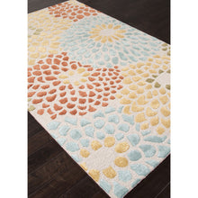 Load image into Gallery viewer, Jaipur Rugs Transitional Geometric Pattern Ivory/Red Wool and Art Silk Area Rug BL103 (Rectangle)