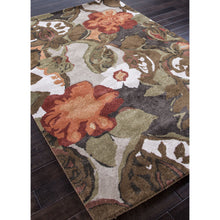 Load image into Gallery viewer, Jaipur Rugs Modern Floral Pattern Brown/Orange Wool Area Rug BL12 (Rectangle)