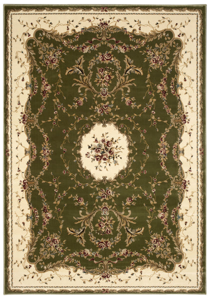 Nourison Bordeaux Sage Area Rug Bor01 Sage Rectangle