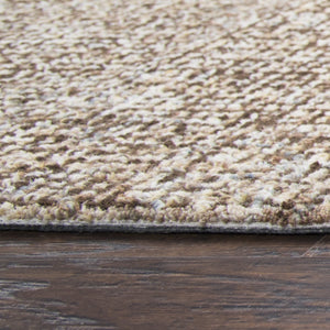 Rizzy Home Brindleton BR360A Brown Solid Area Rug