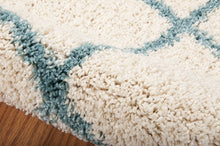 Load image into Gallery viewer, Nourison Brisbane Ivory Aqua Area Rug BRI08 IVAQU (Rectangle)