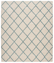 Load image into Gallery viewer, Nourison Brisbane Ivory Aqua Area Rug BRI08 IVAQU