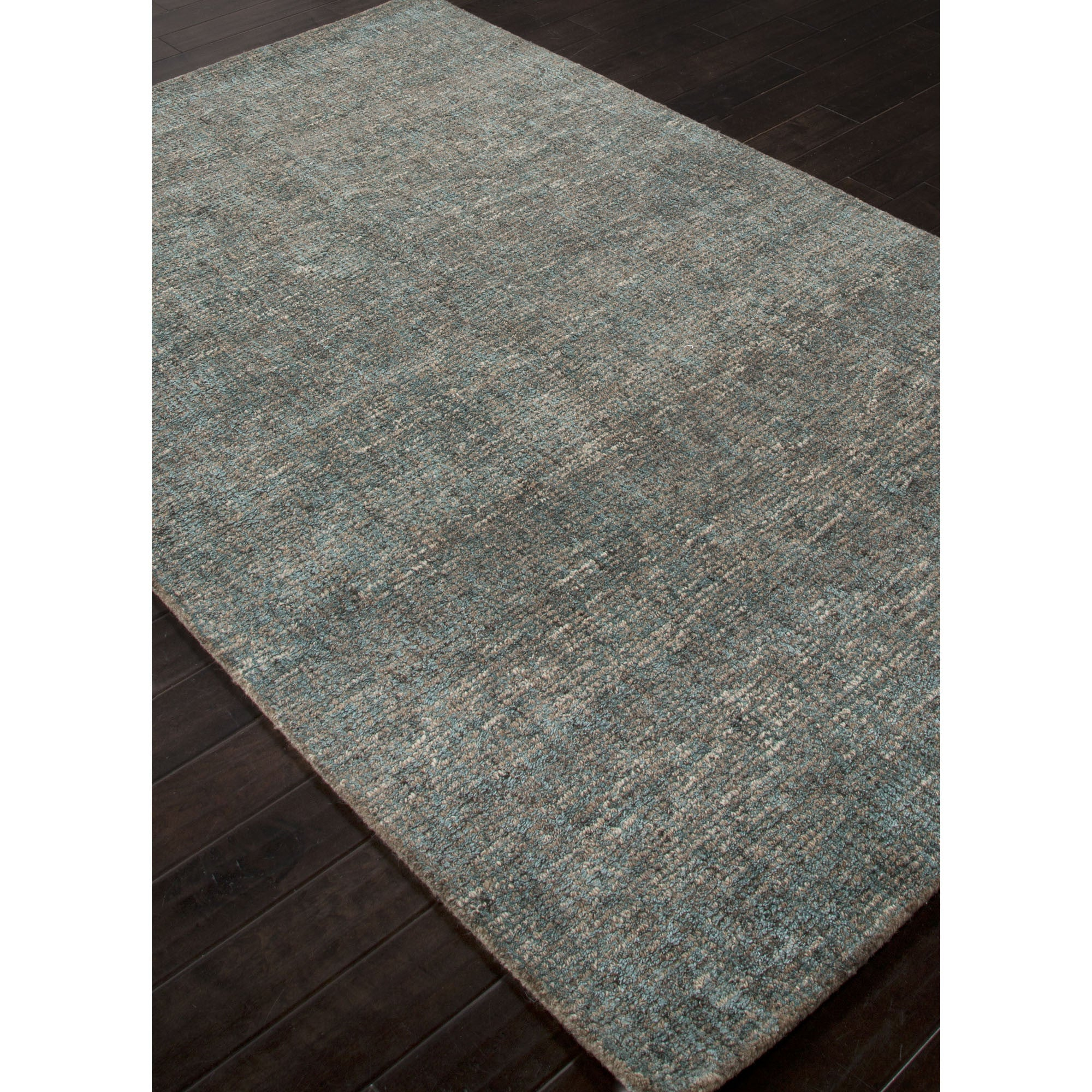 Jaipur Rugs Solid Solid Pattern Blue Gray Wool And Art