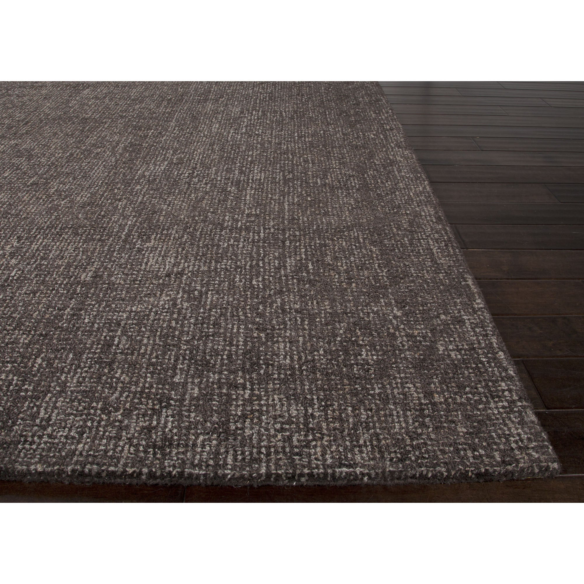 Jaipur Rugs Solid Solid Pattern Taupe Gray Wool Area Rug