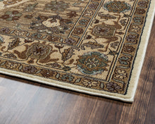 Load image into Gallery viewer, Rizzy Home Bellevue BV3206 Tan/Khaki Border Area Rug