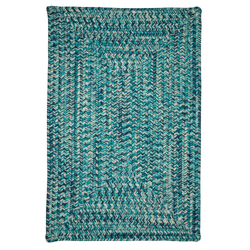 Colonial Mills Catalina CA99 Blue Lagoon Indoor/Outdoor Area Rug
