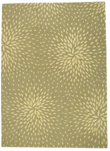 Nourison Capri Light Green Area Rug CAP2 LTG
