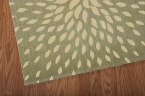 Nourison Capri Light Green Area Rug CAP2 LTG (Rectangle)