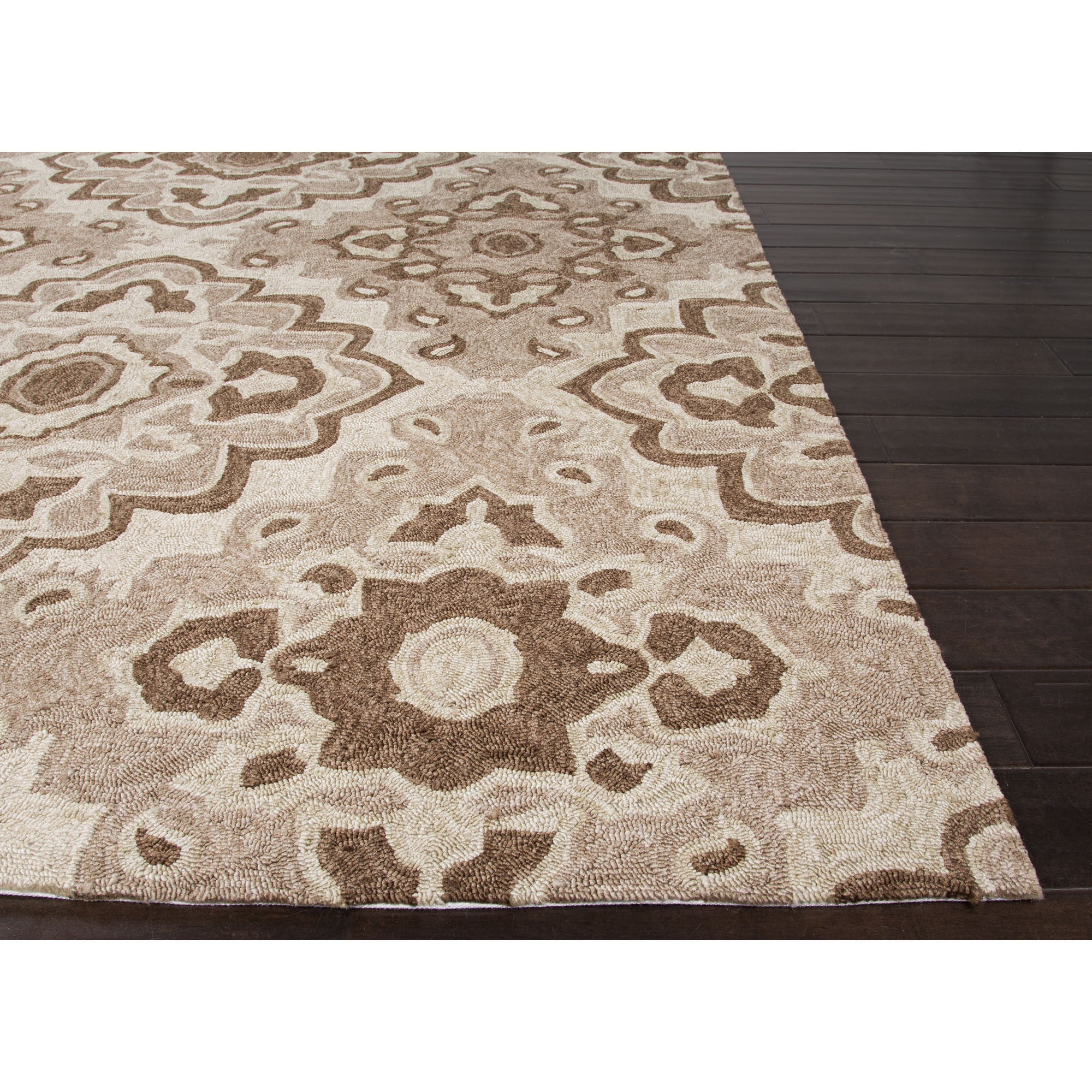 Jaipur Rugs IndoorOutdoor Moroccan Pattern Tan/Brown