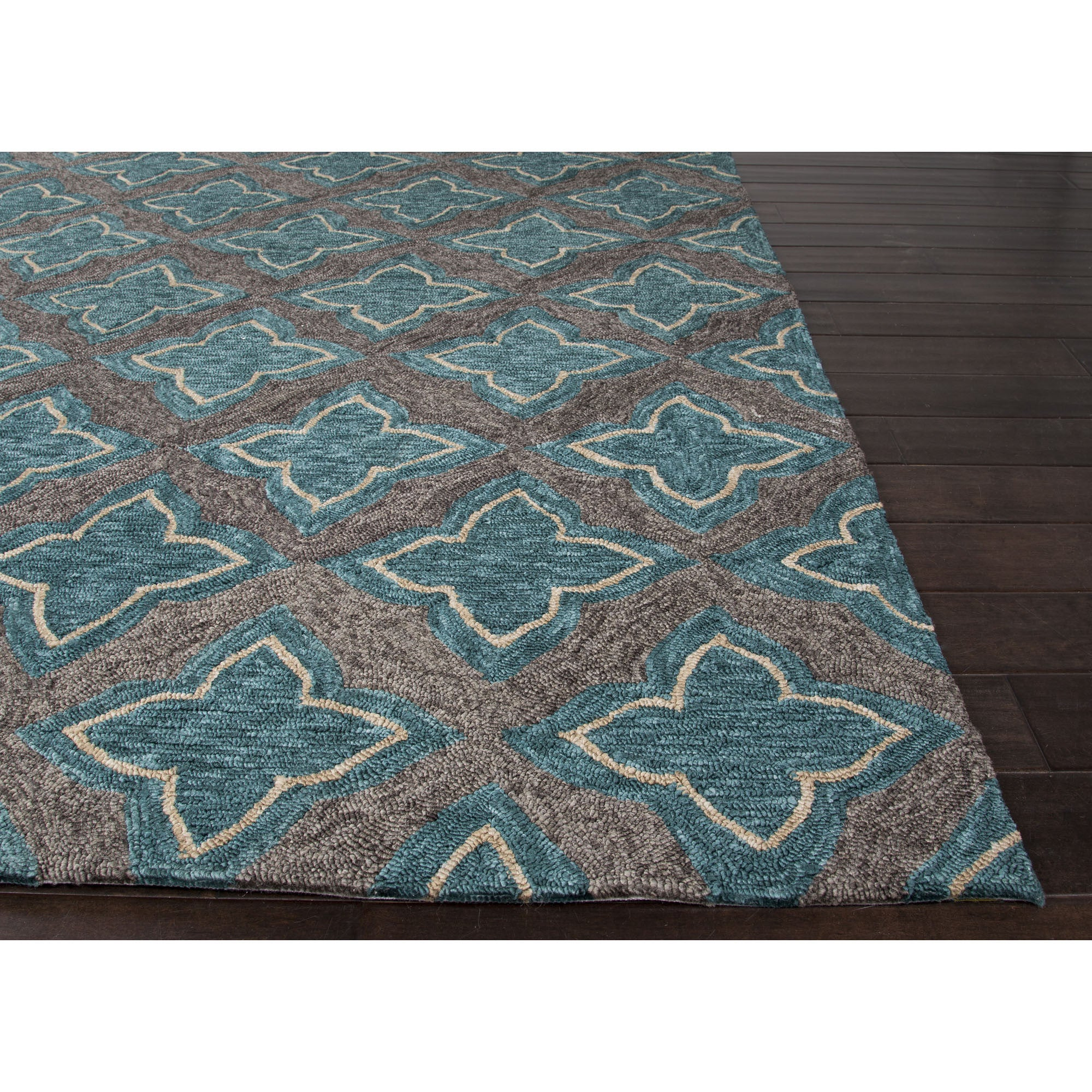 Jaipur Rugs IndoorOutdoor Moroccan Pattern Blue/Gray