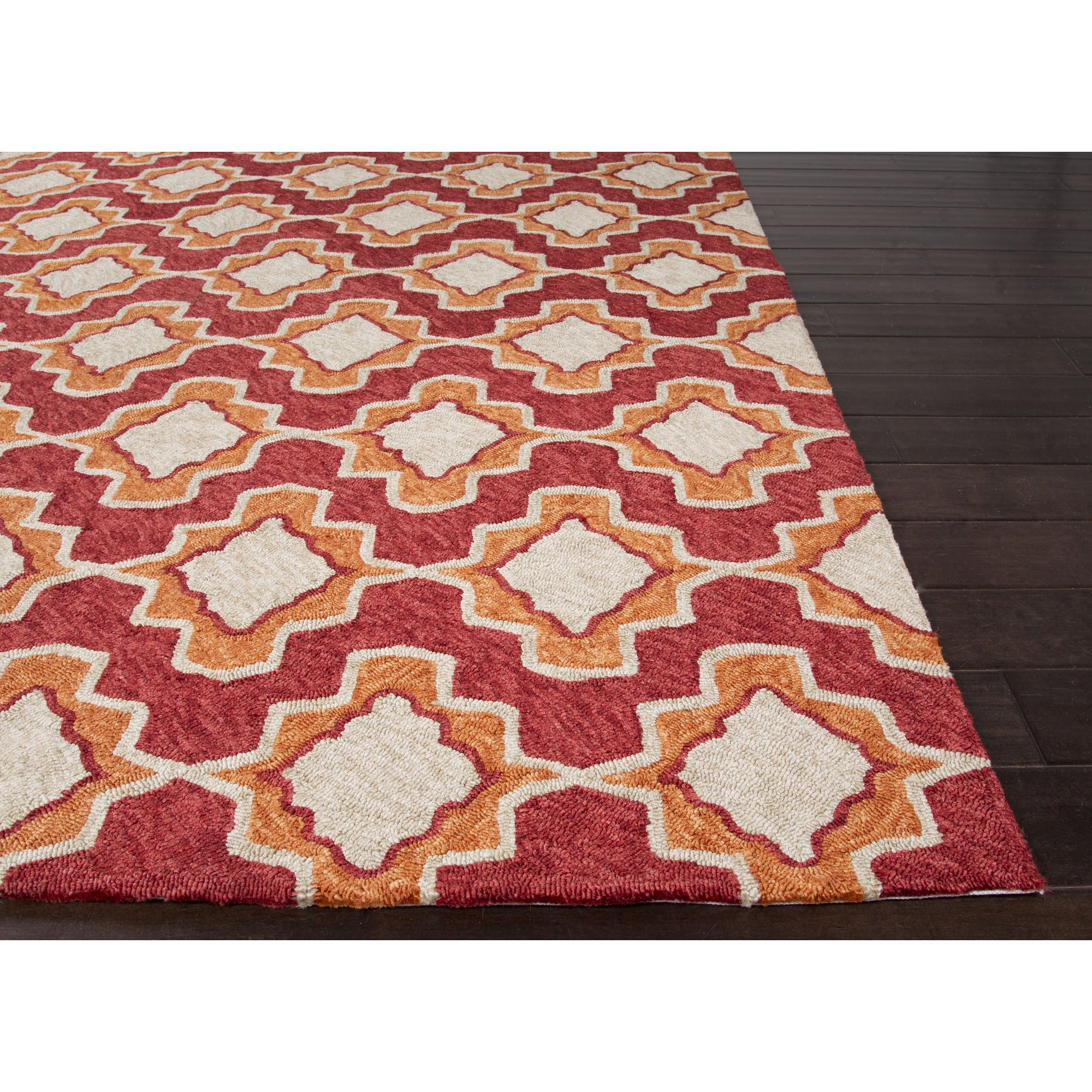 Jaipur Rugs IndoorOutdoor Moroccan Pattern Red/Orange