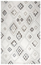 Load image into Gallery viewer, Rizzy Home Caterine CE678A Cream Geometric Area Rug