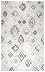 Rizzy Home Caterine CE678A Cream Geometric Area Rug