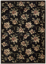 Load image into Gallery viewer, Nourison Cambridge Black Area Rug CG08 BLK