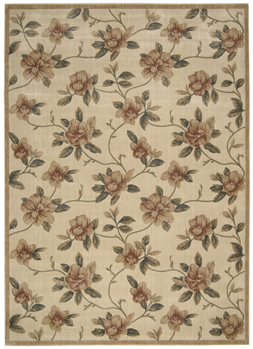 Nourison Cambridge Ivory Area Rug CG08 IV