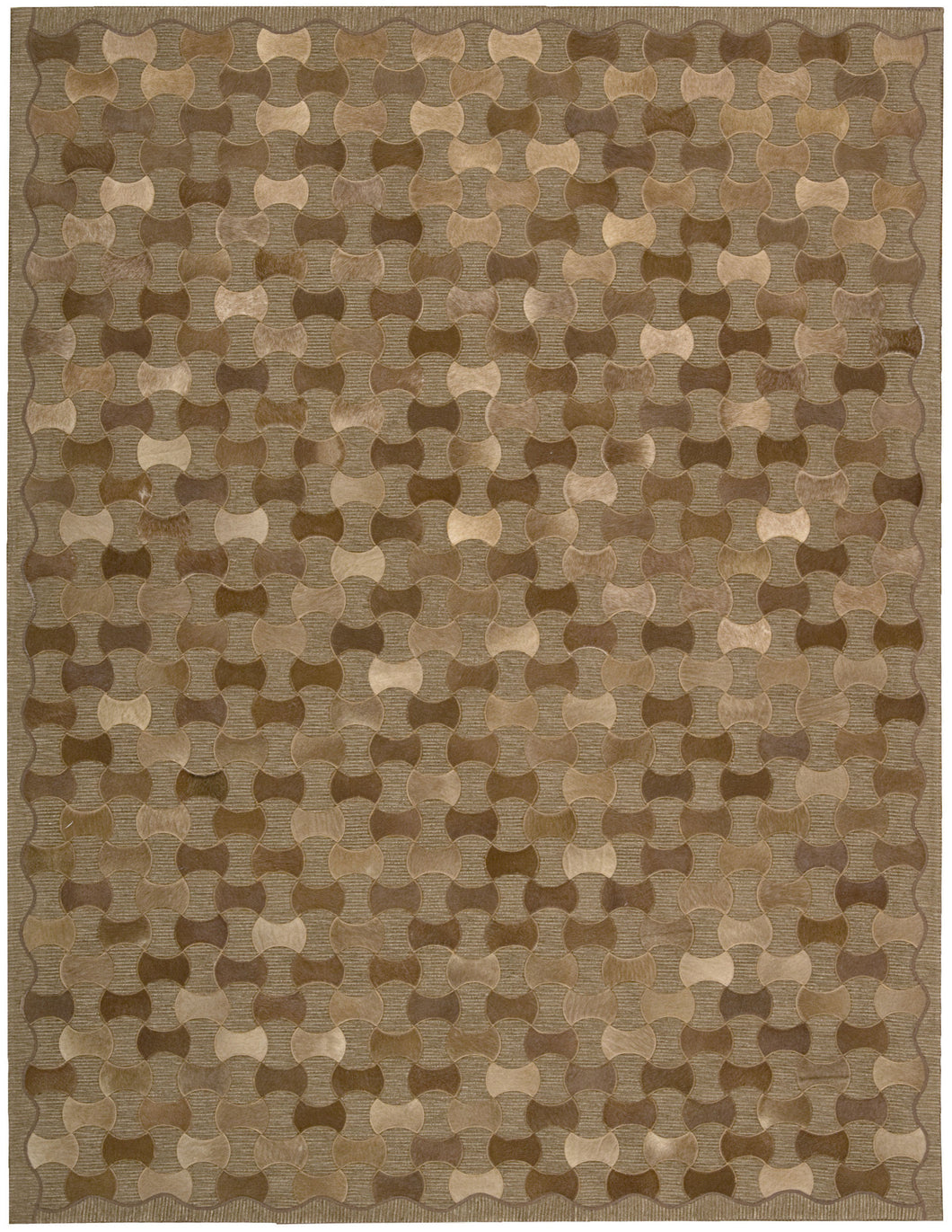 Joseph Abboud Chicago Brown Area Rug By Nourison CHI01 BRN