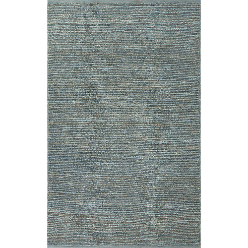 Jaipur Rugs Naturals Solid Pattern Blue Jute Area Rug