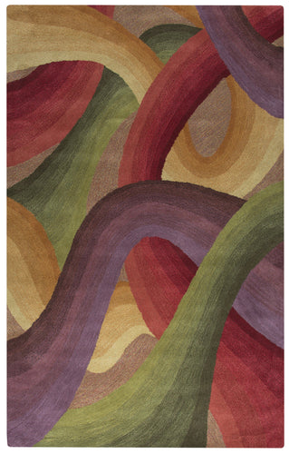 Rizzy Home Colours CL1668 Multi-Colored Abstract Area Rug