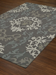 Dalyn Cabana Graphite Cn2 Area Rug