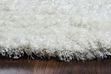 Load image into Gallery viewer, Rizzy Home Commons CO8365 White Solid Area Rug