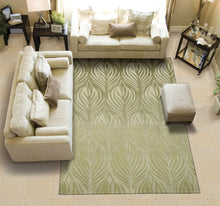 Load image into Gallery viewer, Nourison Contour Green Area Rug CON06 GRE