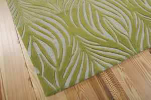 Nourison Contour Green Area Rug CON06 GRE (Rectangle)