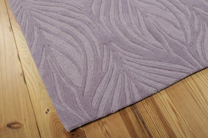Nourison Contour Lavender Area Rug CON06 LAV (Rectangle)