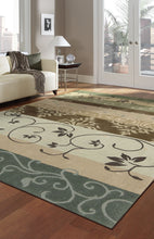 Load image into Gallery viewer, Nourison Contour Green Area Rug CON10 GRE