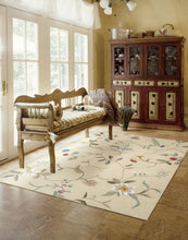 Load image into Gallery viewer, Nourison Contour Cream Area Rug CON12 CRM