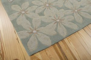 Nourison Contour Sage Area Rug CON16 SAG (Rectangle)