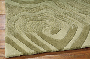 Nourison Contour Avocado Area Rug CON24 AVOCA (Rectangle)