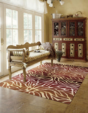 Load image into Gallery viewer, Nourison Contour Flame Area Rug CON25 FLAME