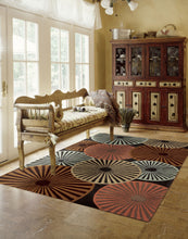 Load image into Gallery viewer, Nourison Contour Multicolor Area Rug CON26 MTC