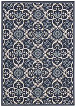 Load image into Gallery viewer, Nourison Caribbean Navy Area Rug CRB02 NAV