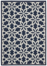 Load image into Gallery viewer, Nourison Caribbean Navy Area Rug CRB05 NAV